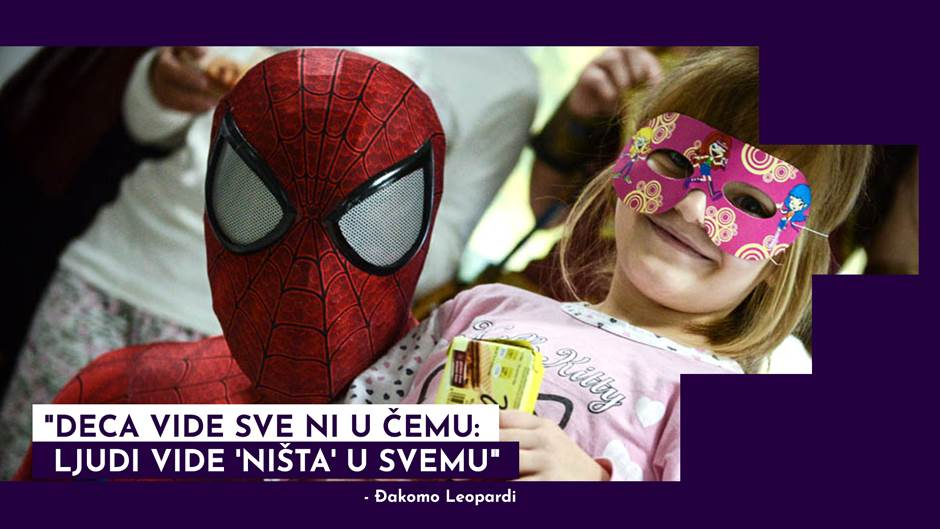 """Duša se leči kad ste među decom"" (VIDEO)"
