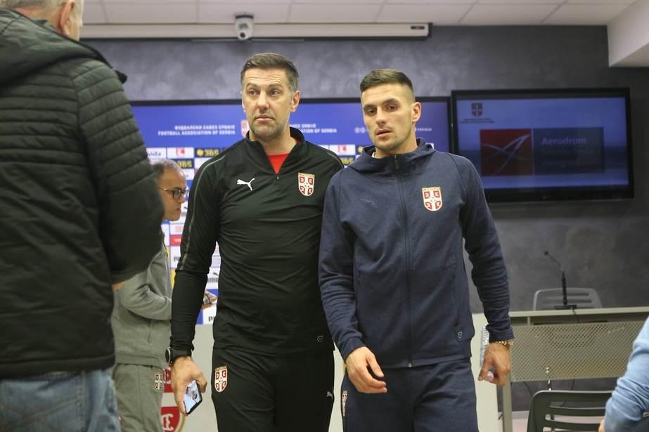 Mladen Krstajić i Dušan Tadić