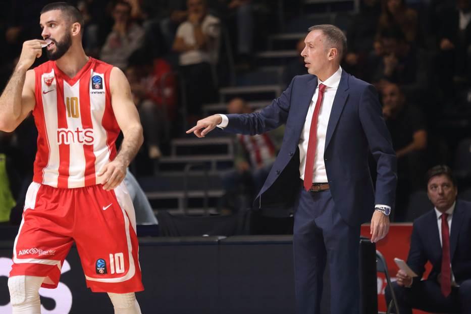 Milan Tomić Branko Lazić KK Crvena zvezda