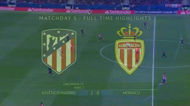 Atletiko Madrid - Monako