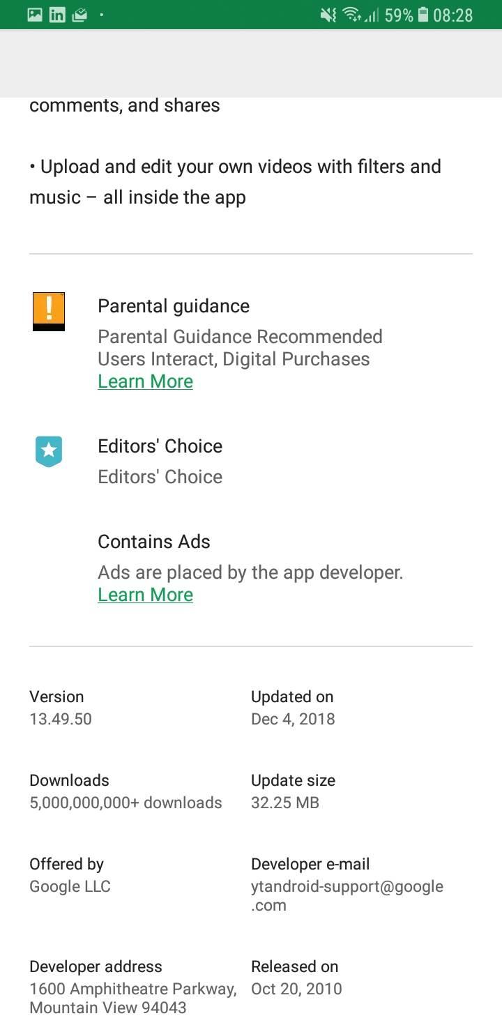Kraj za mnoge aplikacije i igre u Android prodavnici
