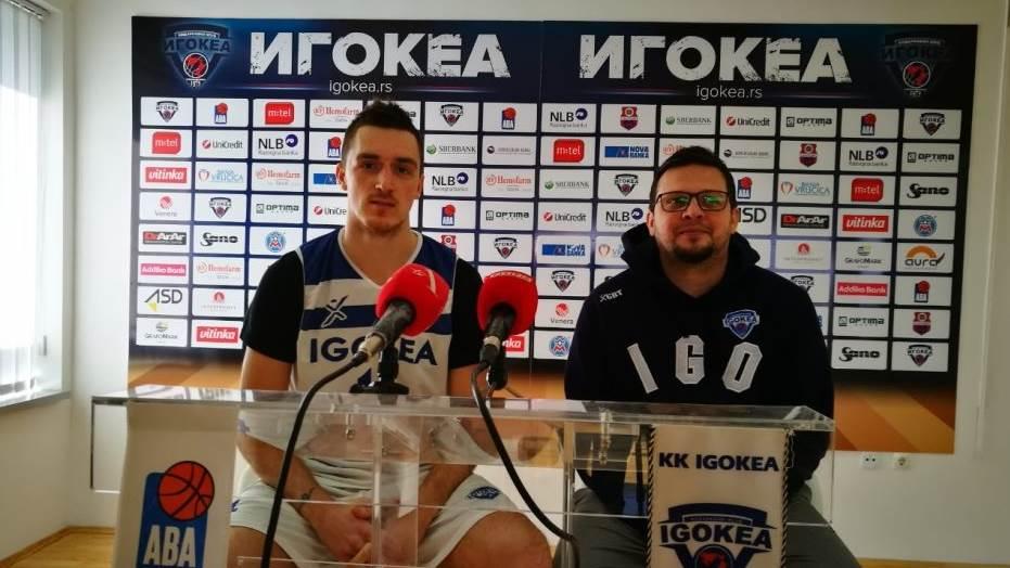Anđušić protiv Partizana: Mogao bih kao Radivojević