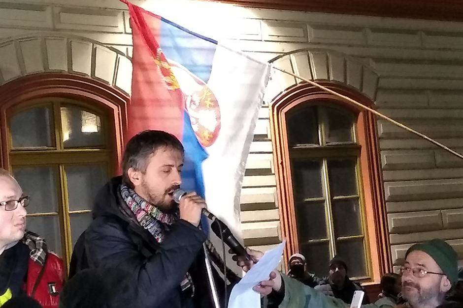 Protest opozicije u Beogradu (FOTO)