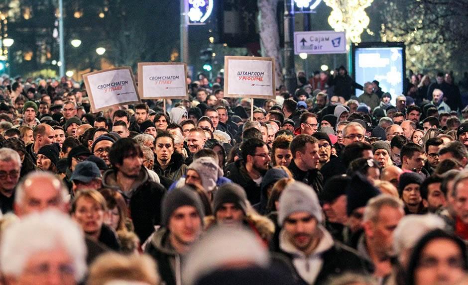 """""""Nemam problem s protestima u Beogradu"""""""