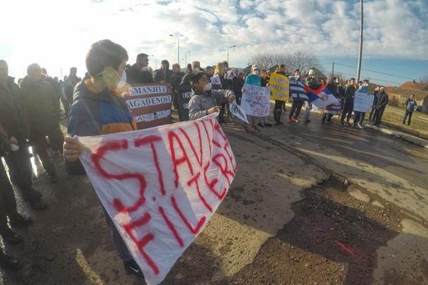 protest u Smederevu