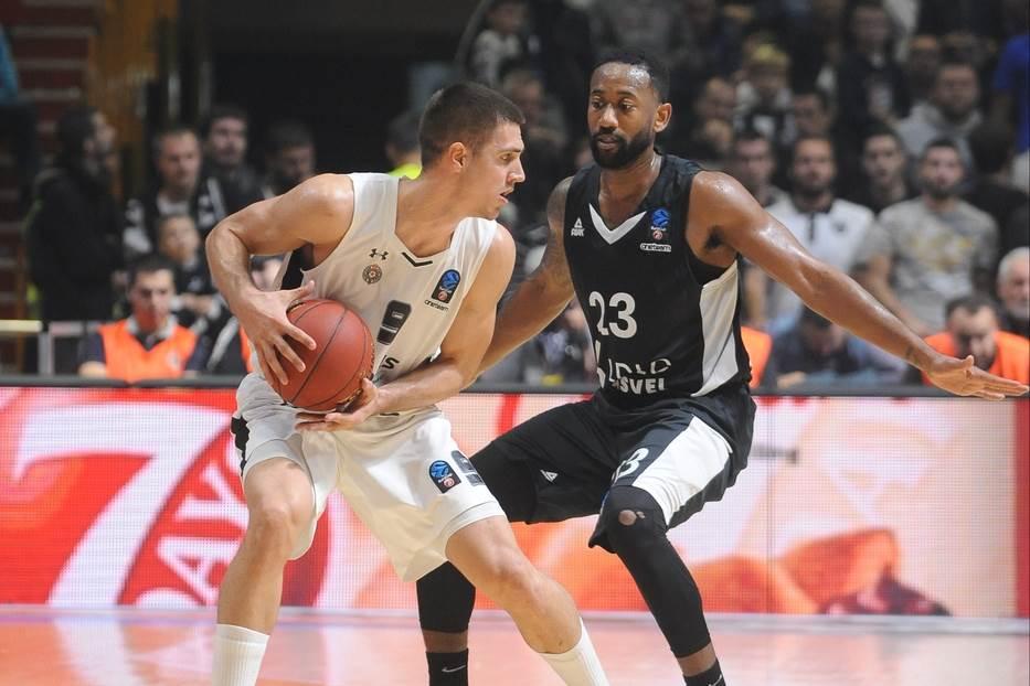 Vanja Marinković KK Partizan Asvel Evrokup