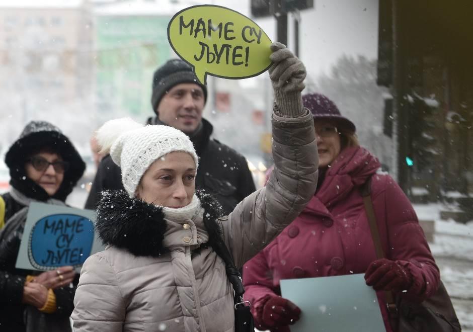 mame, majke protest