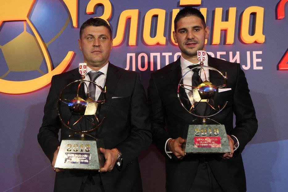 """Mitroviću i Milojeviću uručene """"Zlatne lopte"""" (VIDEO)"""