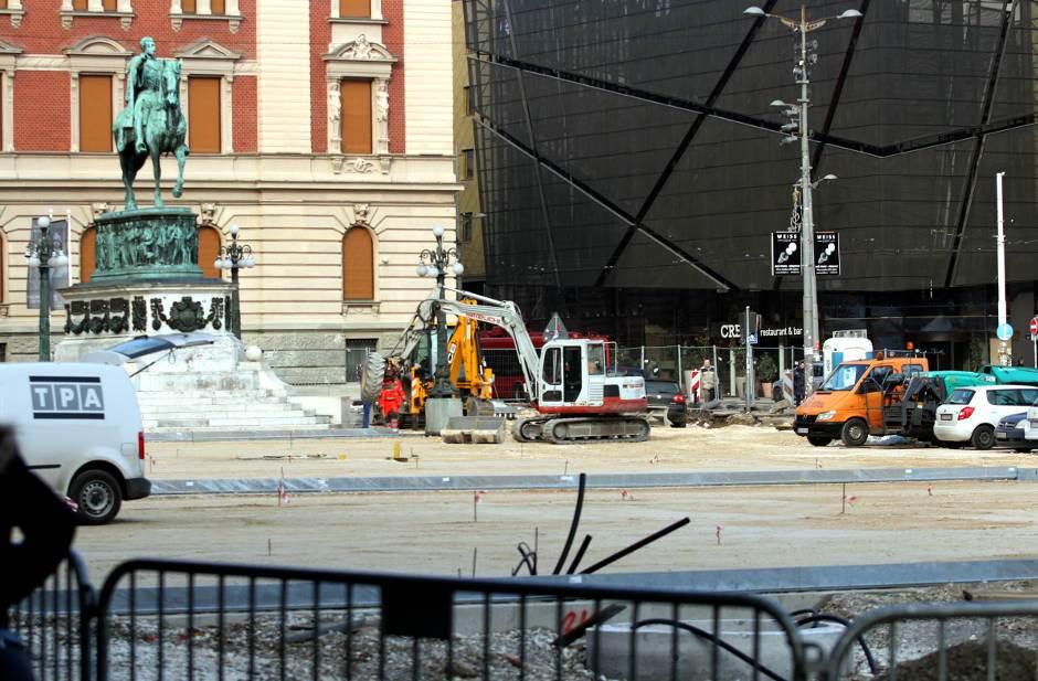 trg republike radovi