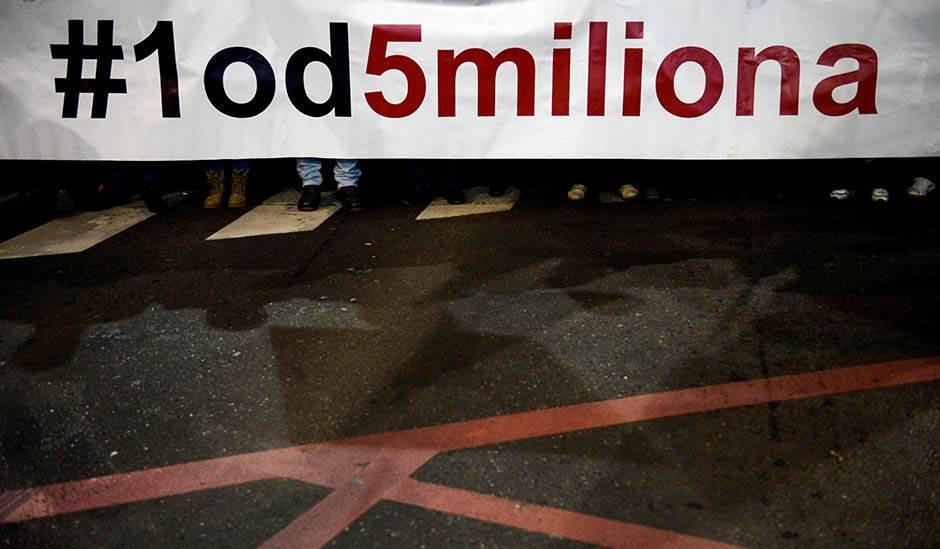 protest, opozicija, protest opozicije, jedan od pet miliona, stop krvavim košuljama