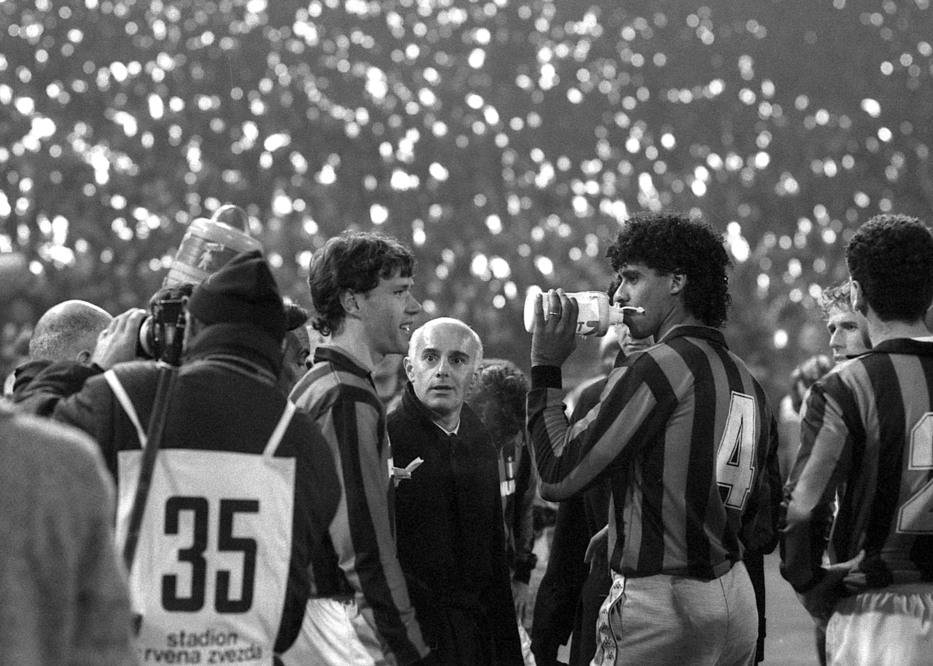 Zvezda - Milan, Van Basten, Milan, magla