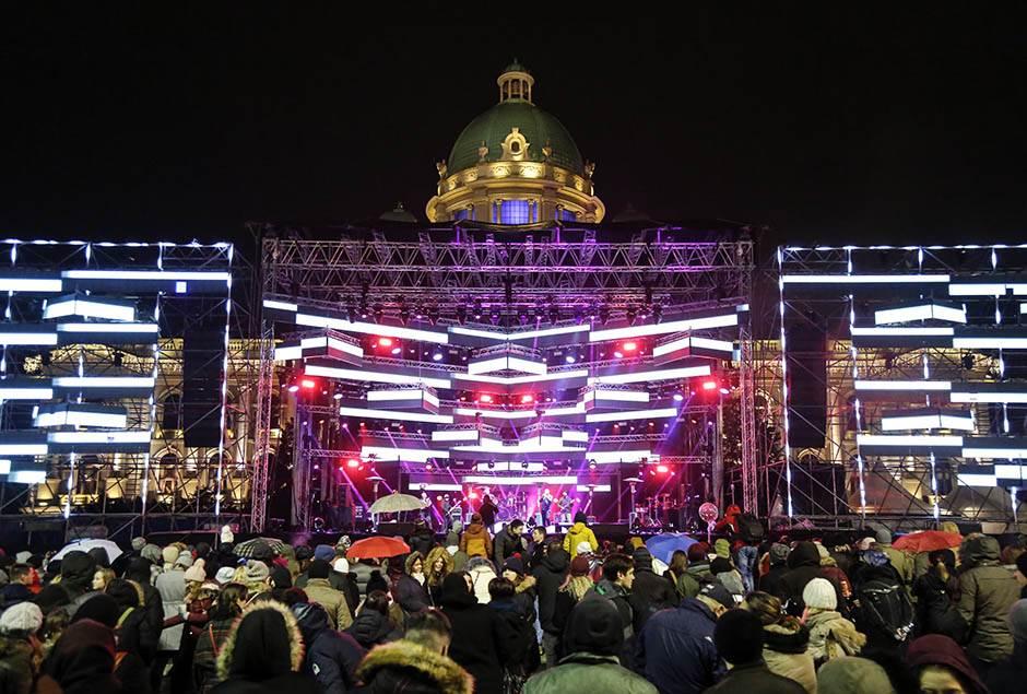 doček, nova godina, skupština, S.A.R.S, koncert