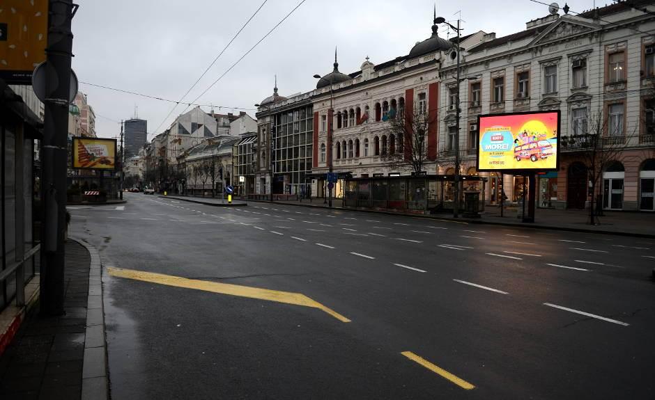 Neobično jutro u Beogradu: Bez gužve