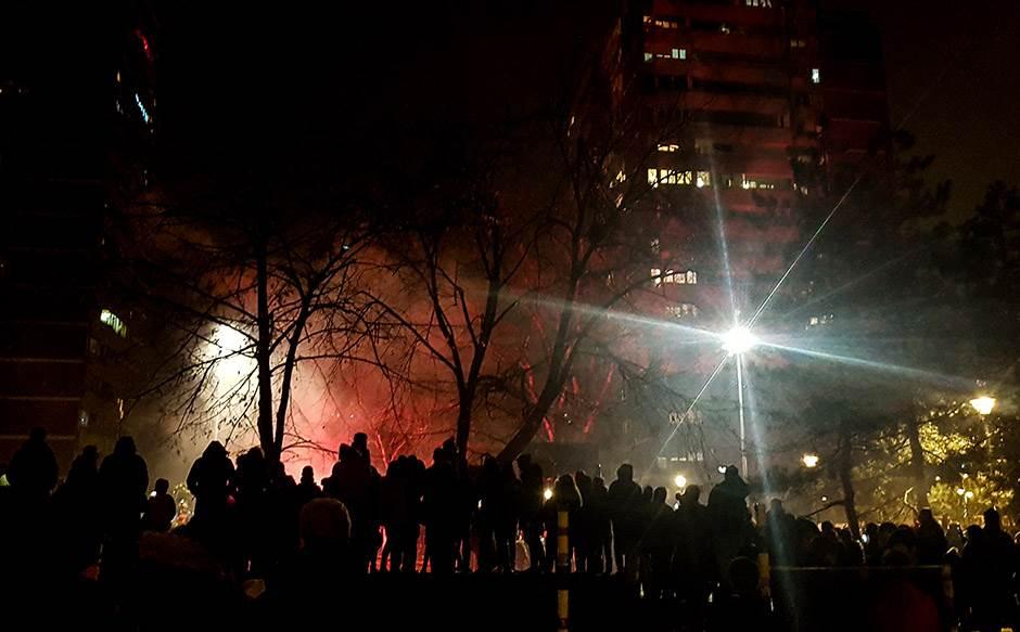 Tradicija: Vatromet u bloku 45!