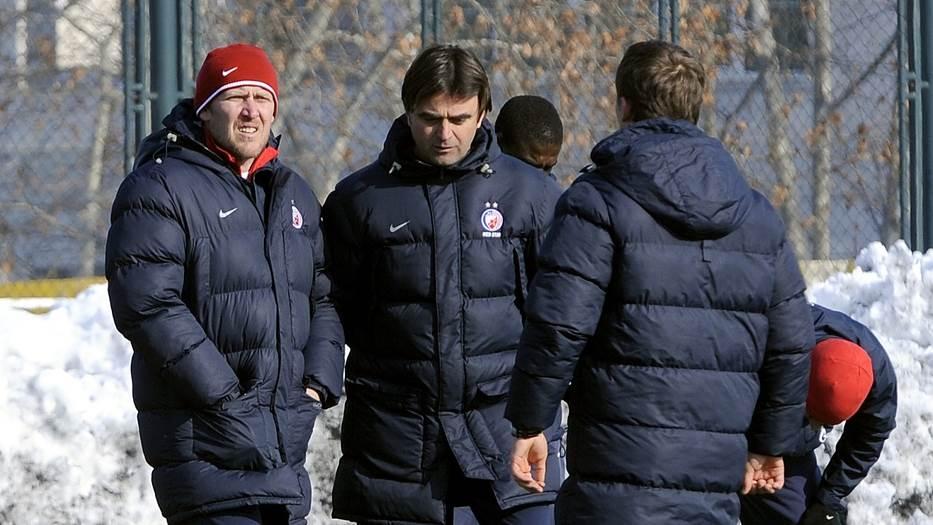 Robert Prosinečki i Slobodan Marović