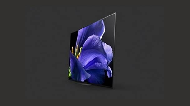 Sony OLED 4K, 8K TV CES 2019