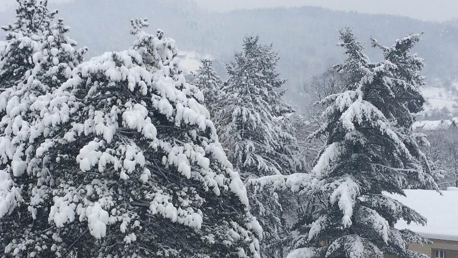 sneg, ivanjica