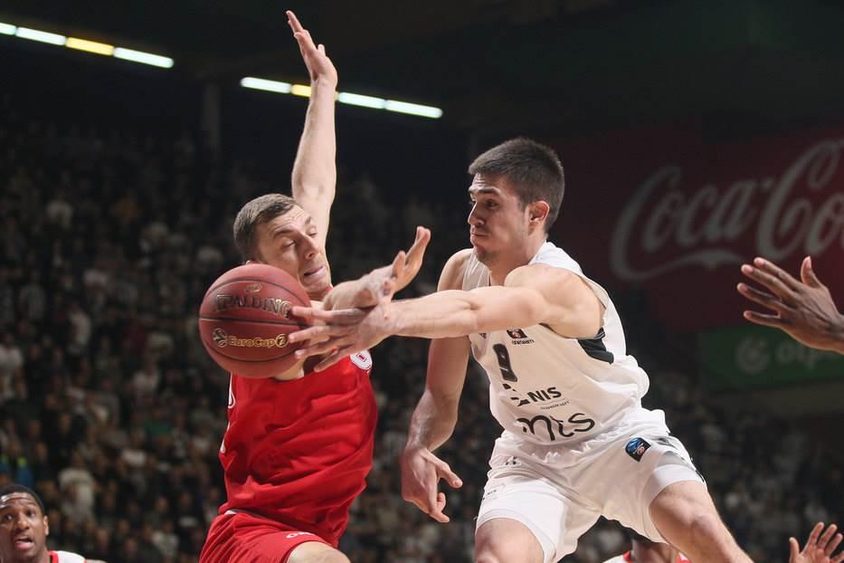 Vanja Marinković KK Partizan Monako