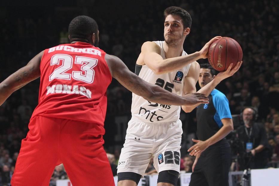 Rade Zagorac KK Partizan Monako