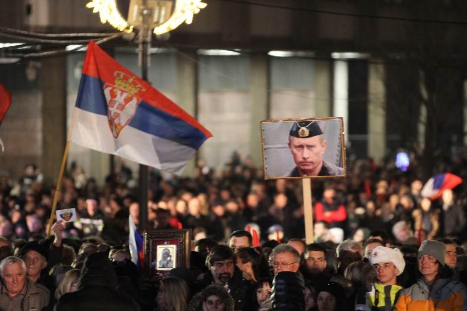 Putin Srbima: Hvala na prijateljstvu! (FOTO, VIDEO)