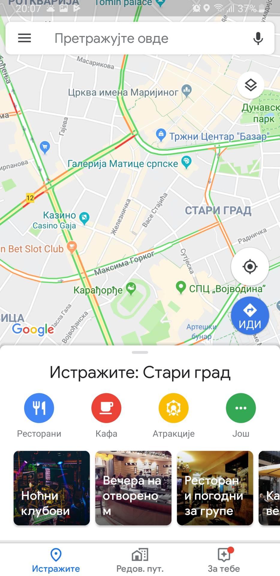 Google Maps: Pogledajte kako sad izgleda aplikacija
