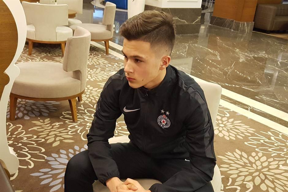Filip Stevanović FK Partizan pripreme Antalija