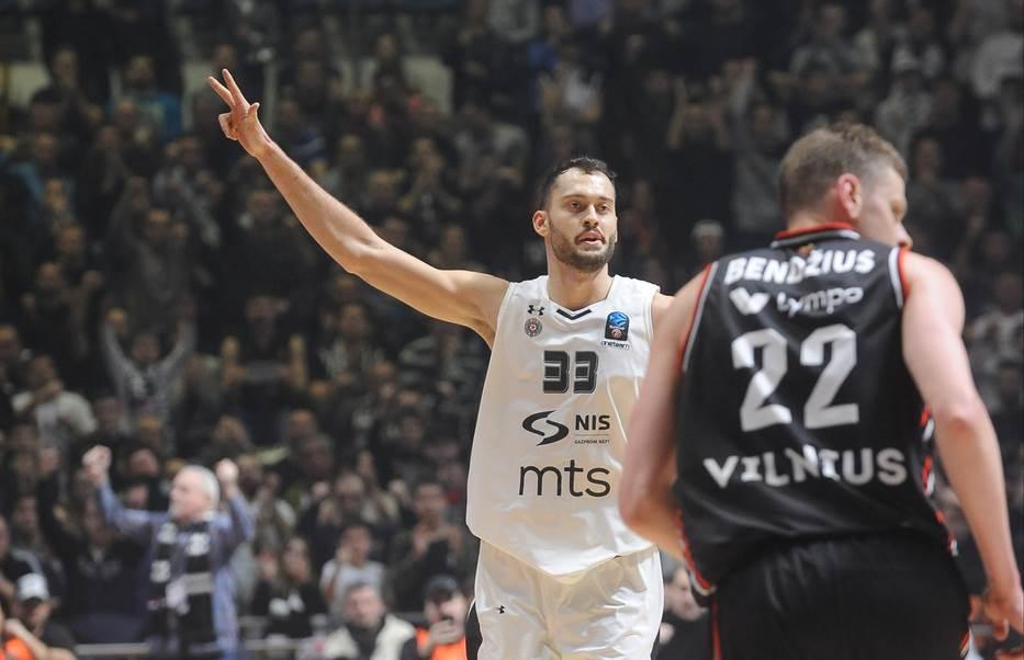 Stefan Janković KK Partizan Ritas Evrokup