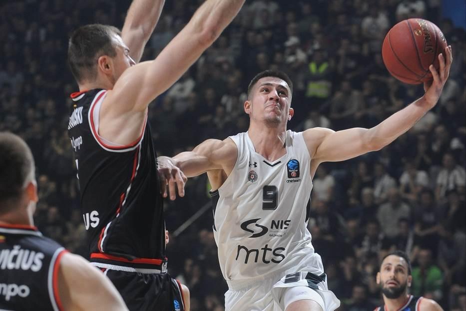 Vanja Marinković KK Partizan Ritas Evrokup