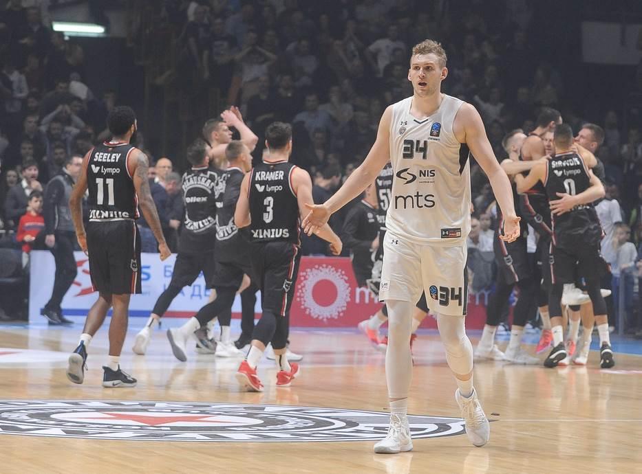 Džok Lendejl KK Partizan Ritas Evrokup