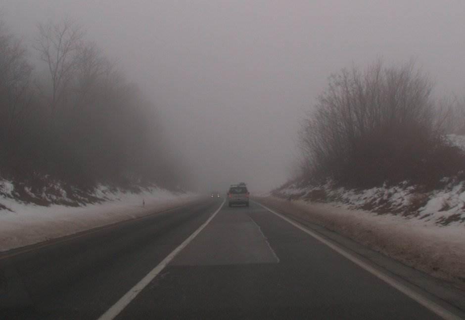 magla, put, putevi, saobraćaj, magistrala