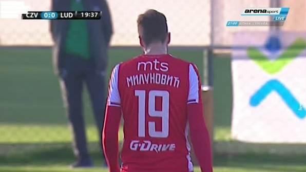 Poništen gol Milunović na Zvezda - Ludogorec