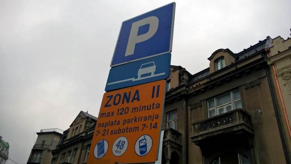 parking zone zona Beograd