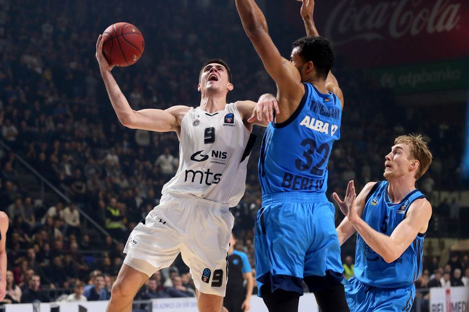 Vanja Marinković KK Partizan Alba Evrokup