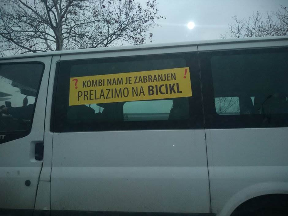 kombi, protest