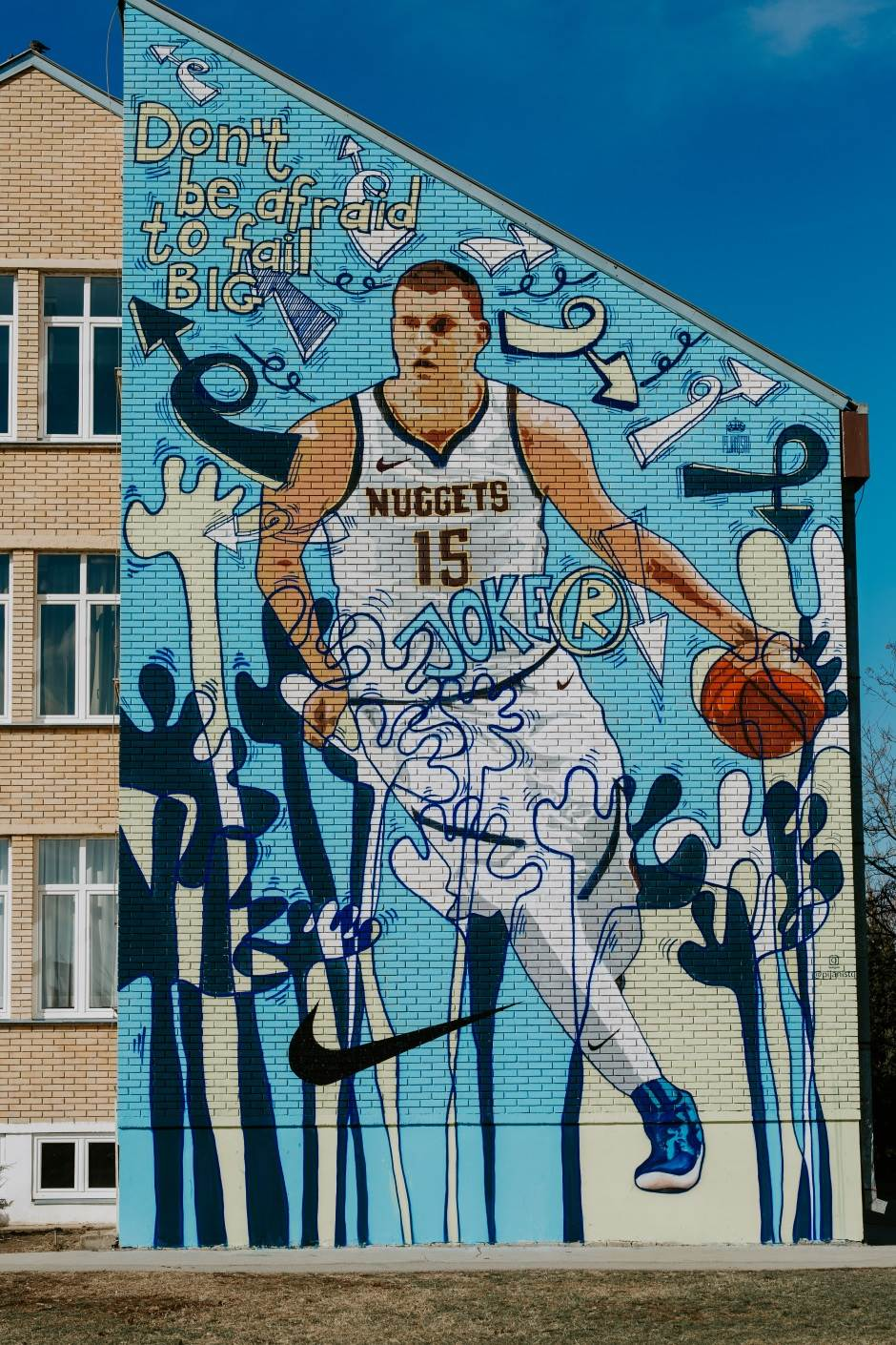 Bogdanov mural (VIDEO, FOTO)