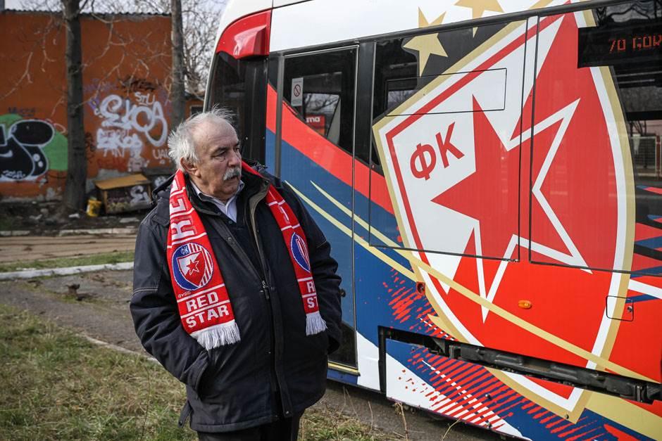 VIDEO, FOTO: Kroz Beograd u Zvezdinom tramvaju