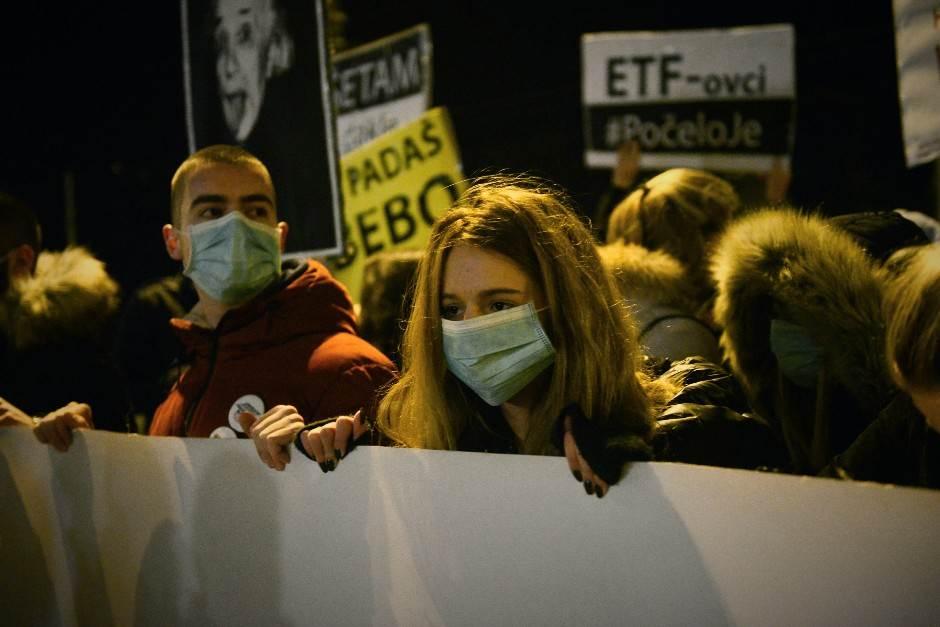 """EU o protestima: Nema """"balkanskog proleća"""""""