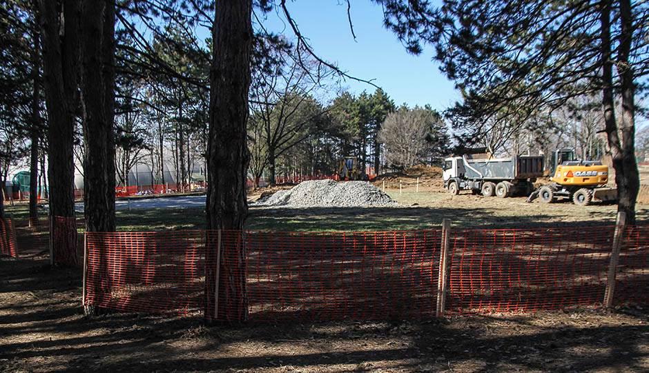 Izgradnja dvorane u Košutnjaku počinje u junu