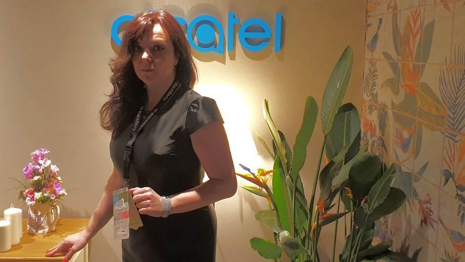 Desi Penčeva, direktorka kompanije Alcatel za Srbiju i Crnu Goru.