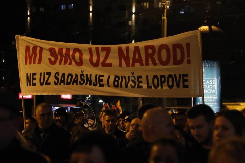 MUP: Izmišljotiina o legitimisanju učesnika protesta