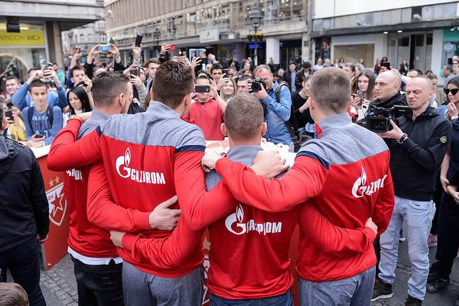Crveno-beli obradovali Beograđanke