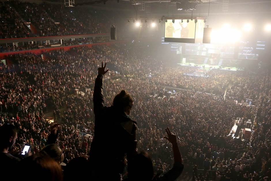 đani, arena, publika, koncert