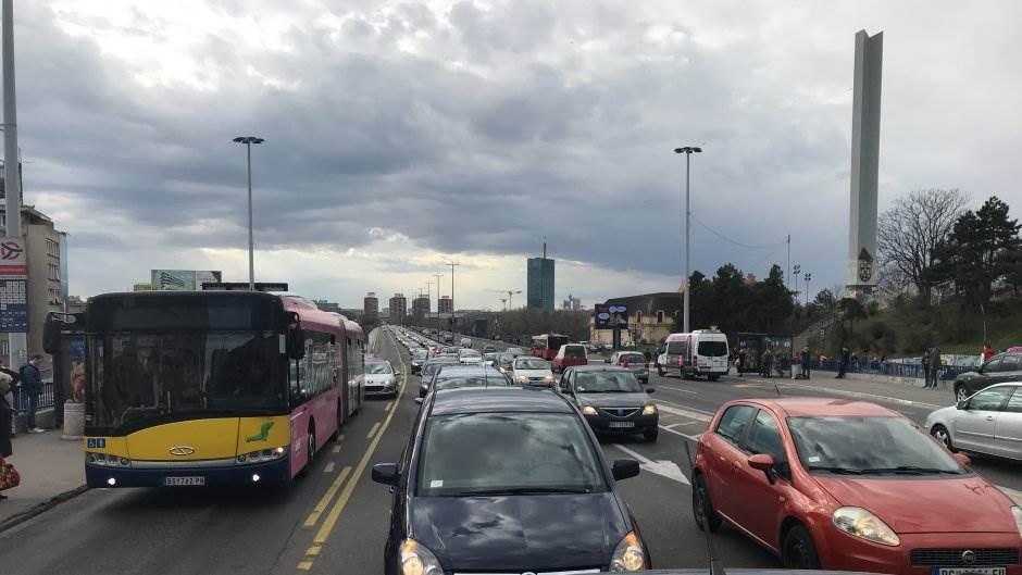 cargo protest beograd gužve brankov most