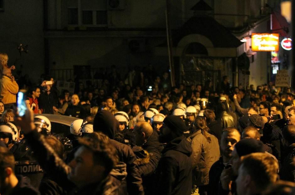 AP o upadu u RTS: Veliki incident na protestu