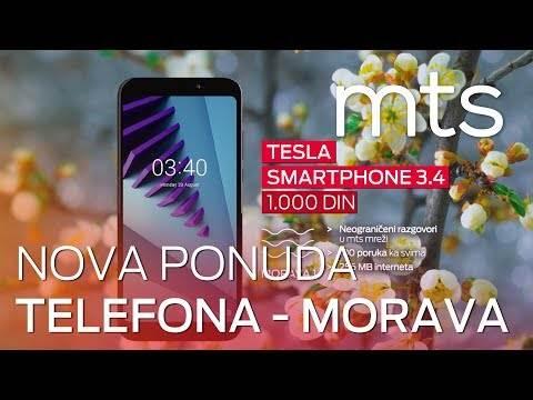 Nova ponuda telefona uz Morava tarifu