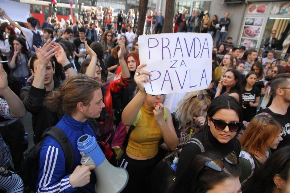 protest za Pavla, Pavle Cvejić