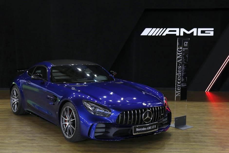 Mercedes AMG GT R, sajam automobila