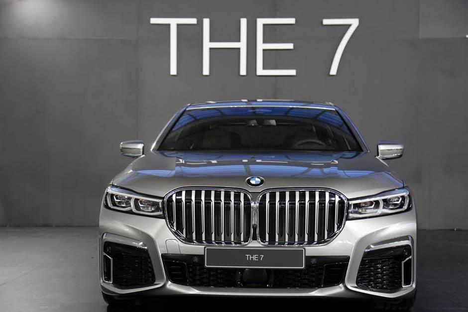 bmw seija 7, sajam automobila