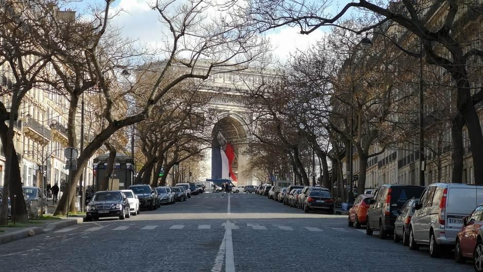Trijumfalna Kapija, Pariz, Francuska