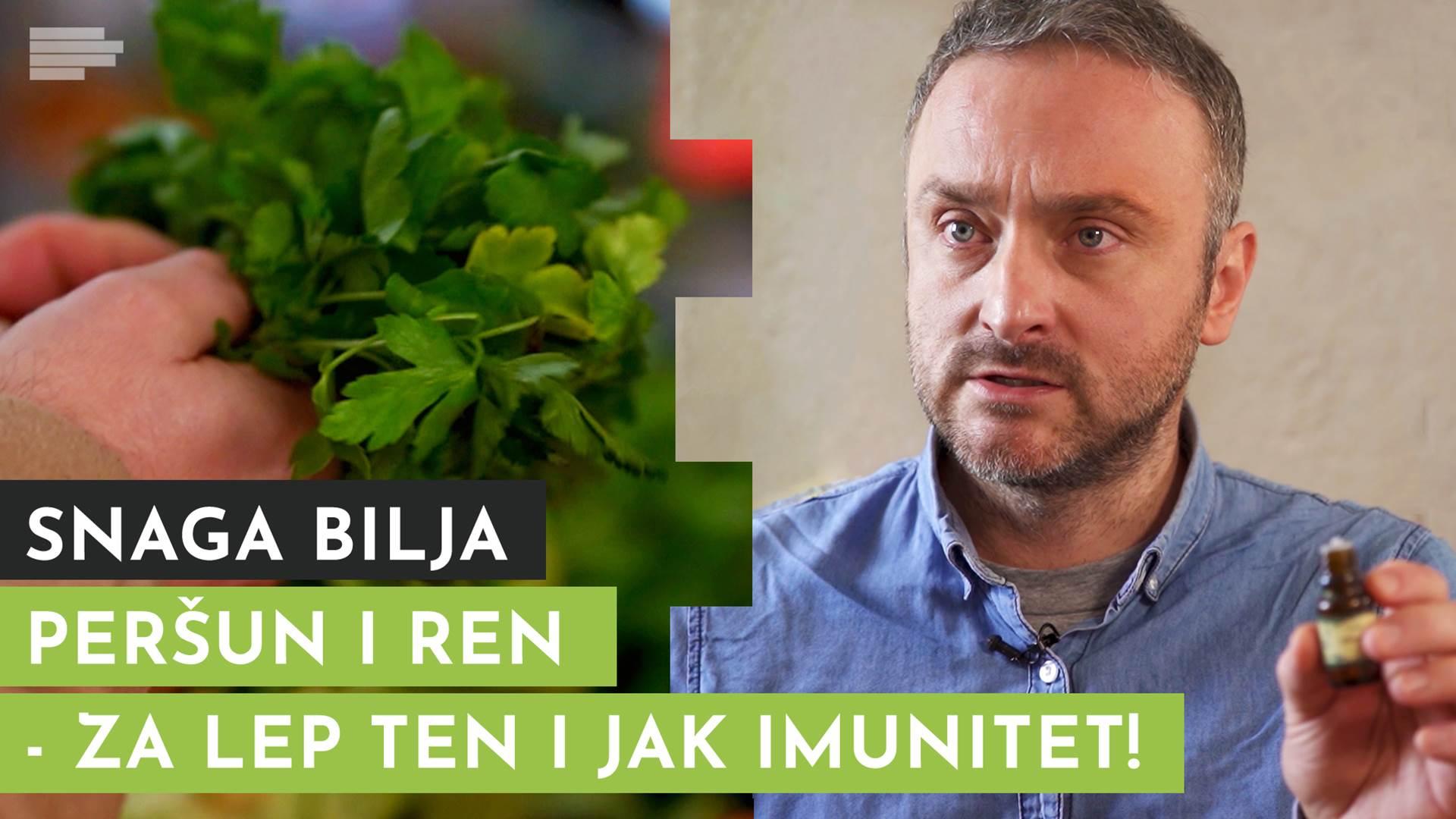 Peršun i ren - i za zdravlje i za rinflajš (VIDEO)